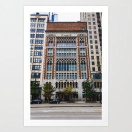 Chicago Athletic Association Art Print