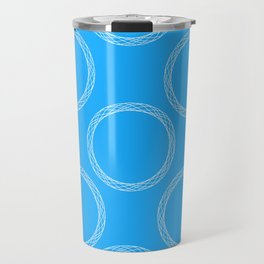 Sophisticated Circles Travel Mug