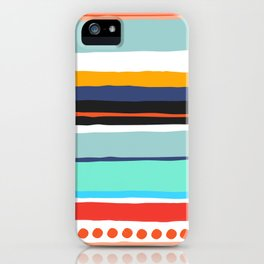 Pop Dot Line iPhone Case