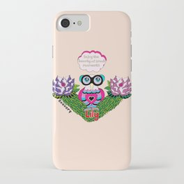 Enjoy the beauty of small moments iPhone Case