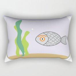 fish eye Rectangular Pillow