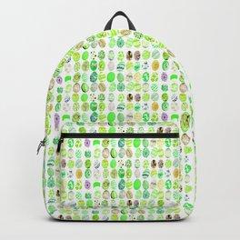 green eggs mosaic Backpack