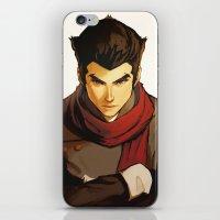 returns iPhone & iPod Skins featuring Mako Returns by Caleb Thomas