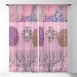 TREES & WOOL Sheer Curtain