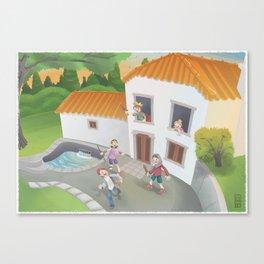 Casa do Moinho Canvas Print
