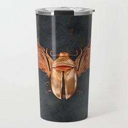 Gold Bettle Travel Mug