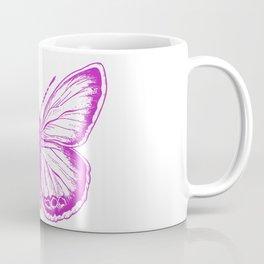 Butterfly - Violet - Beautiful - purple Coffee Mug