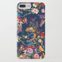 FLORAL AND BIRDS XII iPhone Case