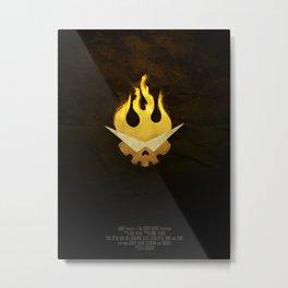 Gurren Lagann Movie Poster Metal Print