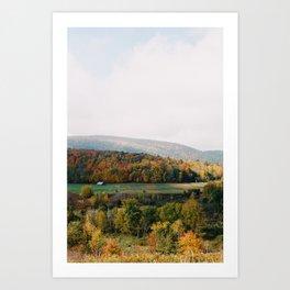 Vermont Valley - 35mm Film Art Print