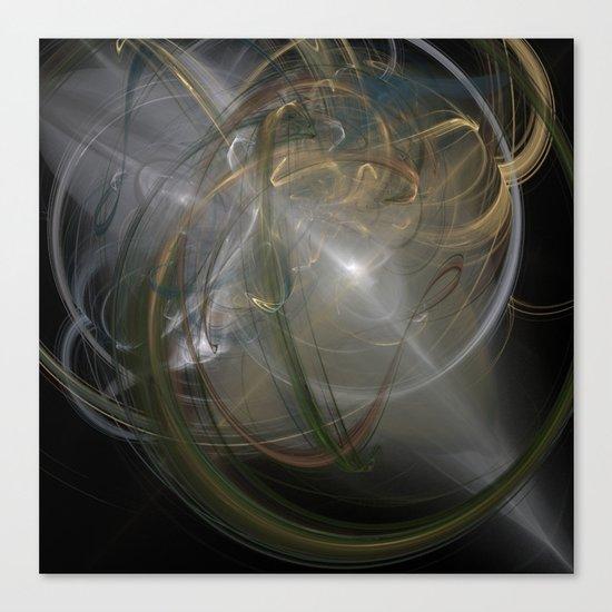 Light Through The Chaos Canvas Print