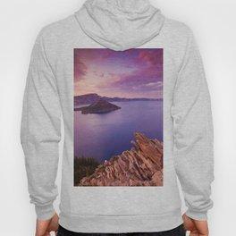 Crater Lake Sunset Hoody