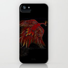 Creature of Fire (The Firebird) iPhone Case