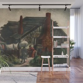 African American Masterpiece 'Monday Morning Wash' by Dox Thrash Wall Mural