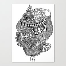 atlante Canvas Print