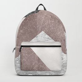 Rose grunge - mountains Backpack