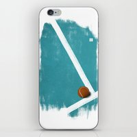 tennis iPhone & iPod Skins featuring Tennis by Matt Irving