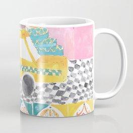Big Yellow Taxi Coffee Mug