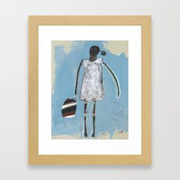 She's A Keeper Framed Art Print