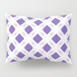 Retro-Delight - Diamond Division - Purple (Invert) Pillow Sham