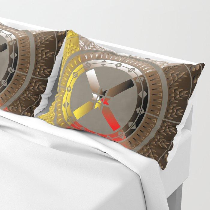 The Four Direction Pillow Sham