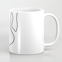 Lovers - Minimal Line Drawing 1 Coffee Mug