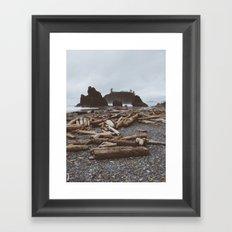 Ruby Beach Framed Art Print