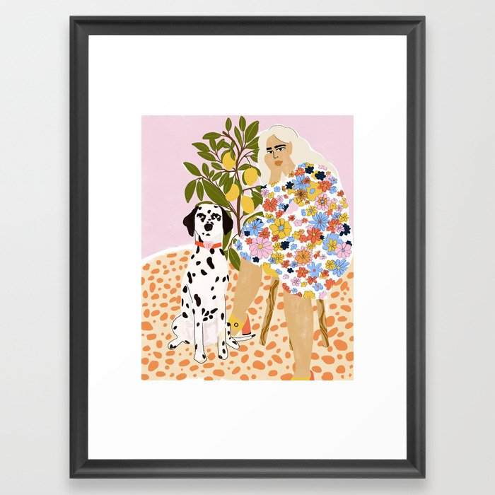 The Chaotic Life Framed Art Print