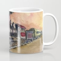 southwest Mugs featuring Southwest Journey by Jeff Moser Watercolorist