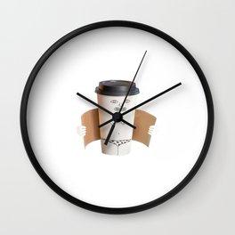 COFFEE STRIPPER Wall Clock
