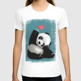 Panda Love (Color) T-shirt