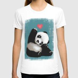 Panda Love (Color) T-shirt