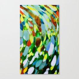 Mexican Rainbow Glass Canvas Print