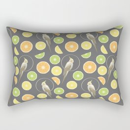 Citrus cockatiel Rectangular Pillow