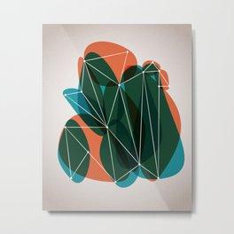 Origami 20 Metal Print