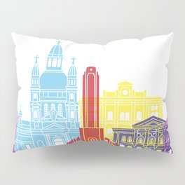 Rosario  skyline pop Pillow Sham