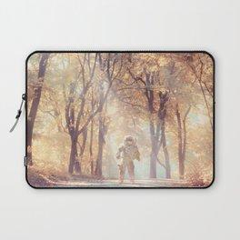 Astronaut In Autumn Forest Laptop Sleeve