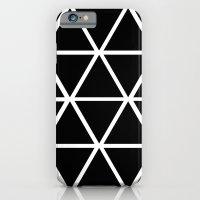 BLACK & WHITE TRIANGLES 2 iPhone 6s Slim Case