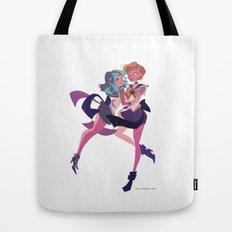 Uranus and Neptune Tote Bag