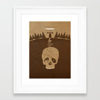 goonies Framed Art Prints featuring The Goonies by Tommaso Valsecchi