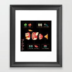 プクプク (Pukupuku) Framed Art Print