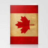 canada Stationery Cards featuring Canada by NicoWriter