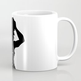 Female Human Shape Target Coffee Mug