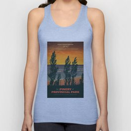 Pinery Provincial Park Poster Unisex Tank Top