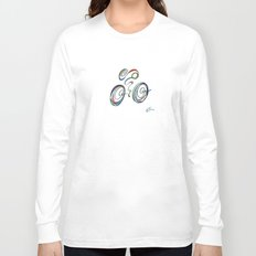Bicycle - Zoomin' Through Long Sleeve T-shirt