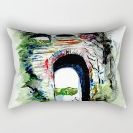 Arco Felice With Dragons Rectangular Pillow