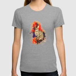 Savannah Cat No2 T-shirt