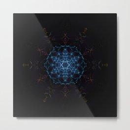Stargate Mandala Metal Print