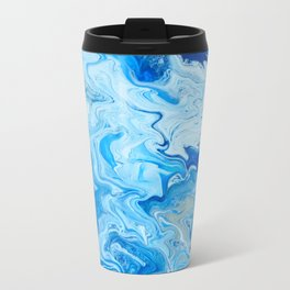 Fluid Blue 2 Travel Mug