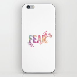 fear not, for I am with you iPhone Skin